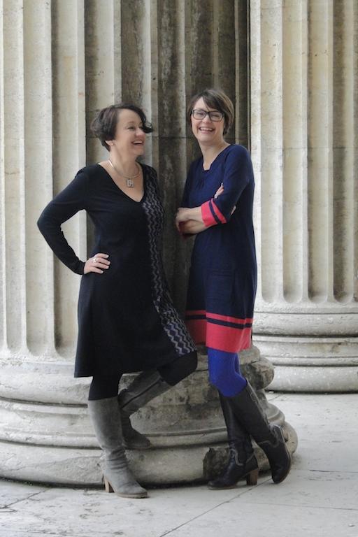 Die Autorinnen Alexandra von Knobloch (links) und Nadja Katzenberger (rechts)