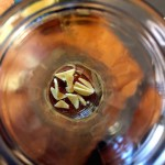 Silvester-Drink Ingwer klein machen